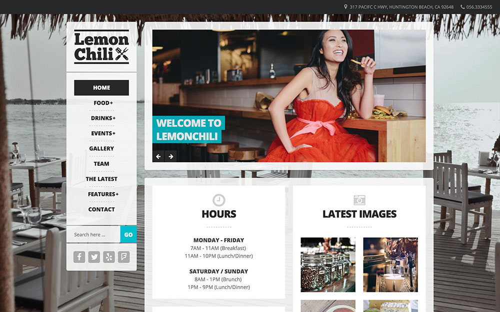 LemonChili - A Restaurant WordPress Theme